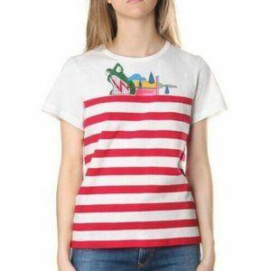 MARC JACOBS JULIE VERHOEVEN Stripe T Shirt Small